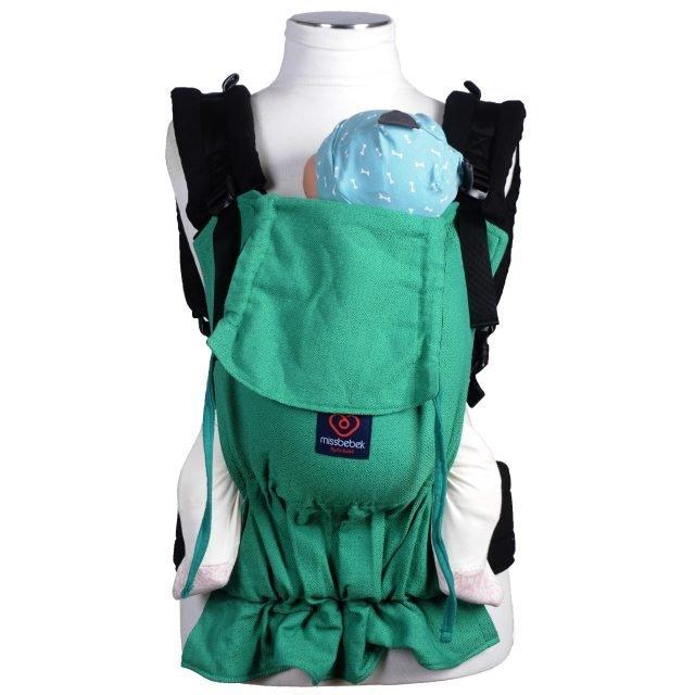 MissBebek Ergonomik Babycarrier / Bebek Taşıyıcı / Ergonomik Kanguru / Bebek Taşıma – Verde