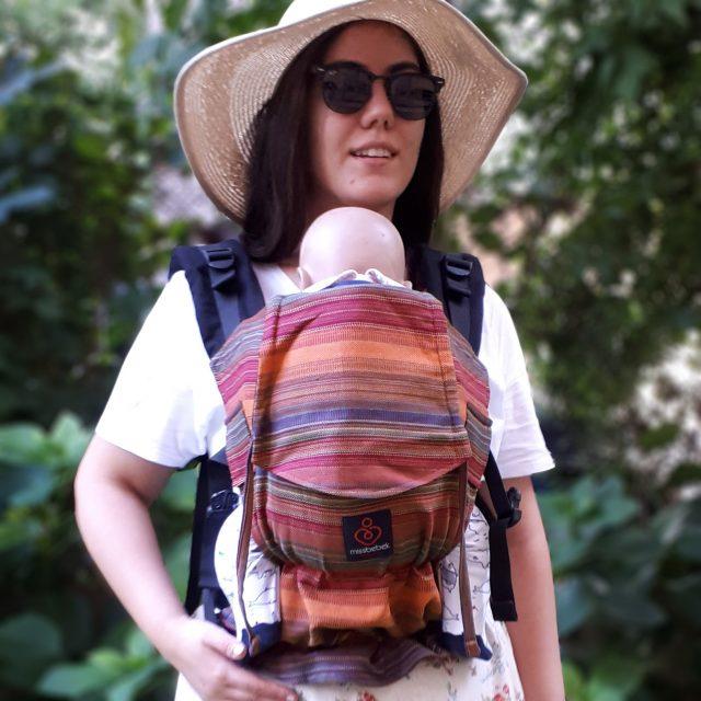 MissBebek Ergonomik Babycarrier / Bebek Taşıyıcı / Ergonomik Kanguru / Bebek Taşıma – Sierra