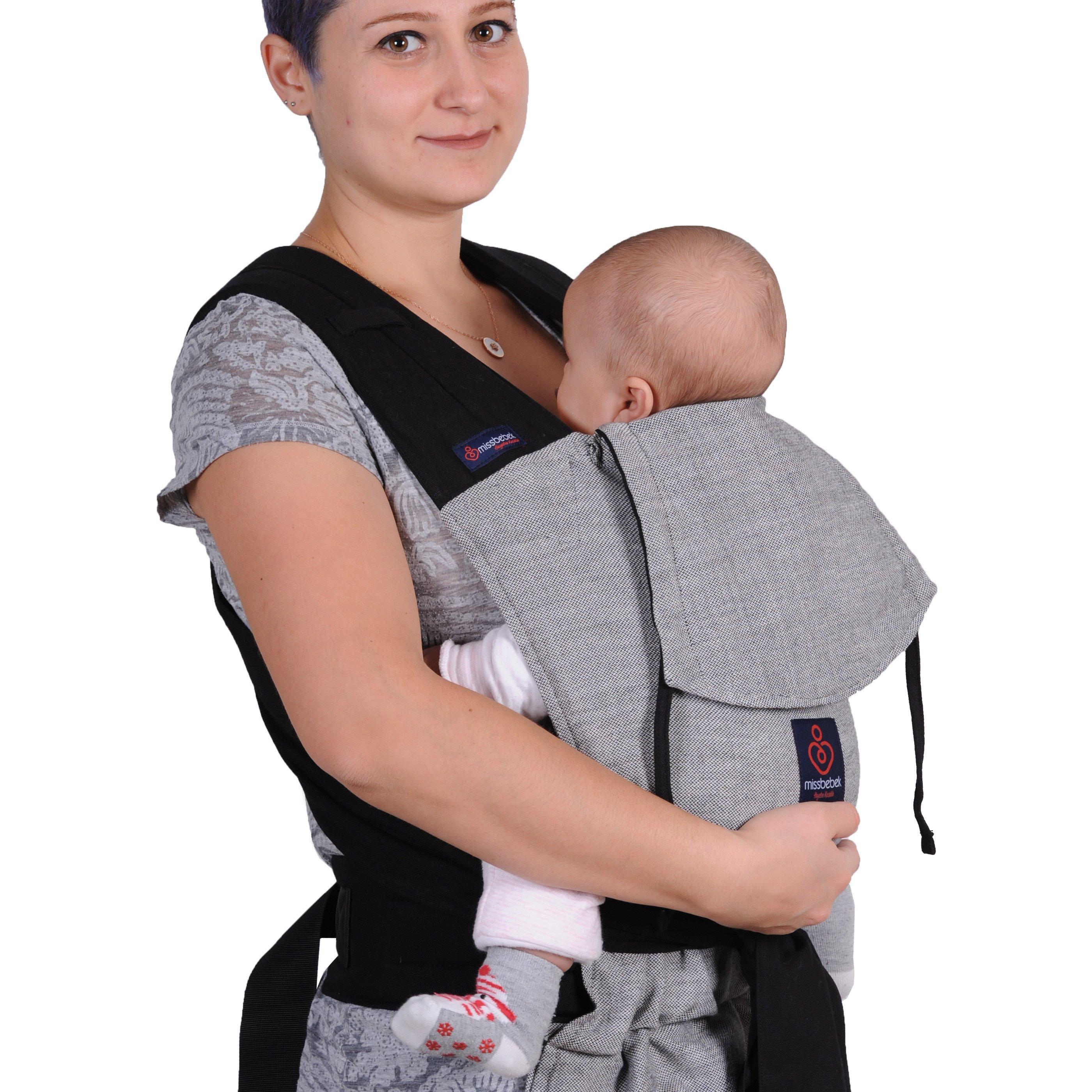 MissBebek Mei Tai Bebek Taşıyıcı / Ergonomik Kanguru / Bebek Taşıma – Tulum