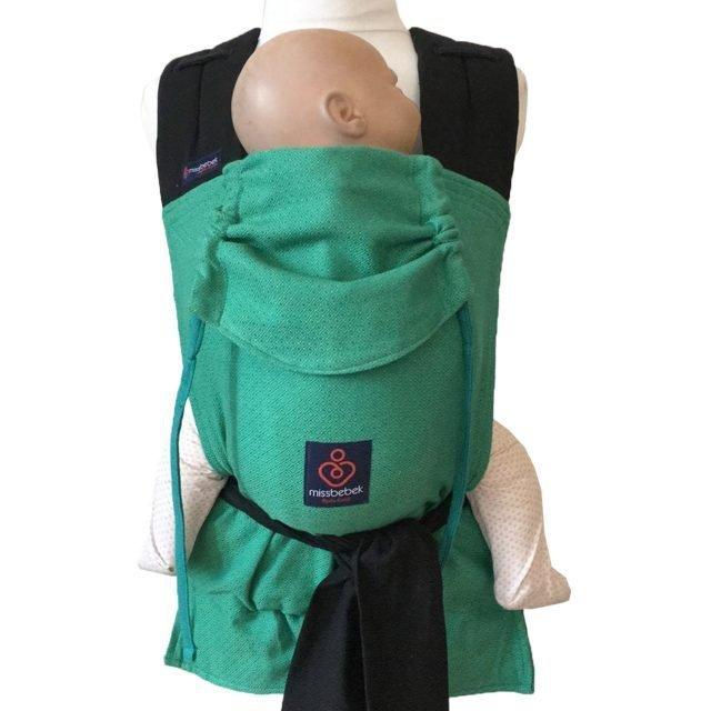 MissBebek Mei Tai Bebek Taşıyıcı / Ergonomik Kanguru / Bebek Taşıma – Verde
