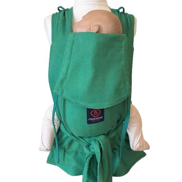 MissBebek Wrap Tai Bebek Taşıyıcı / Ergonomik Kanguru / Bebek Taşıma – Verde